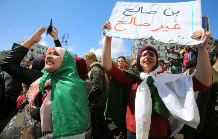 Protesters have reacted to the appointment of Abdelkader Bensalah as Abdelaziz Bouteflika's replacement with rage