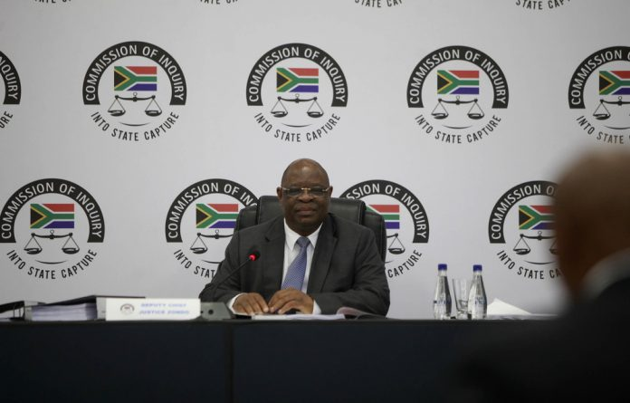 The commission of inquiry into state capture