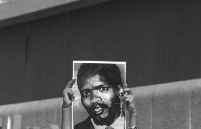 Black Consciousness leader Steve Biko