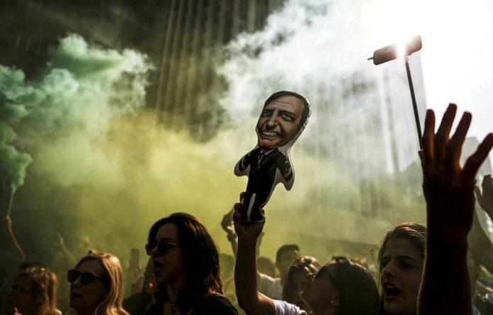 Bizarre: Brazil's new president