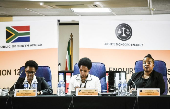 Former Constitutional Court Justice Yvonne Mokgoro.