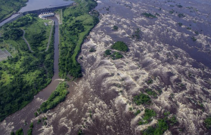 Up the creek: The Congolese government is trying to build another Inga dam on the Congo River and needs South Africa to act as guarantor.