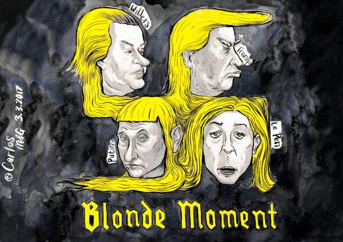 Zapiro: Blonde moment