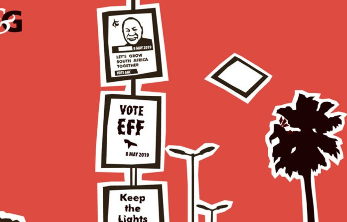 Parties will now have to pull their posters and think of a way forward.