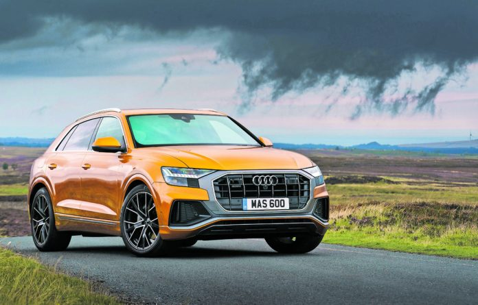 The Audi Q8 is a great combination of speed