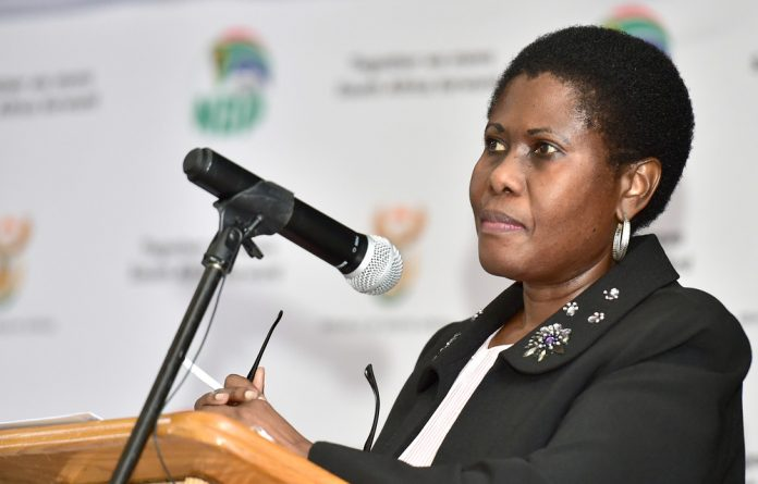 Bob Mhlanga confirmed that State Security Minister Dipuo Letsatsi-Duba suspended him on Friday