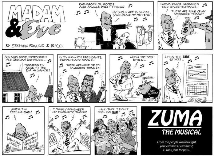 Madam and Eve: 'Zuma' - the musical