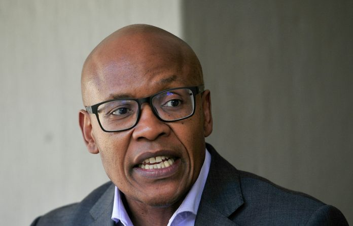"""ATM leader Mzwanele Manyi said his party's campaign strategy """"was largely rooted among the churches""""."""