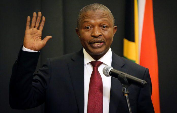 ANC deputy president David Mabuza had indicated