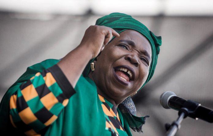 'Our turn': Nkosazana Dlamini-Zuma