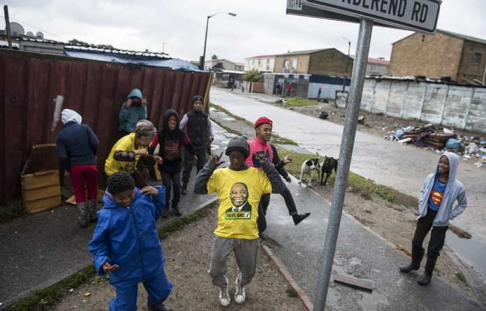 Ceasefire: Residents of Manenberg and surrounds braved wet conditions and potential gang violence on election day. The fact that Ramadan started the day before helped keep the peace.
