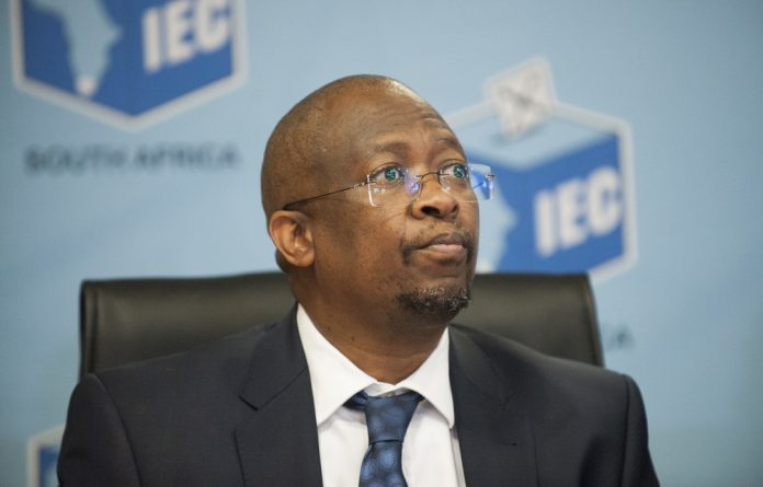 Chief electoral officer of the Electoral Commission of South Africa