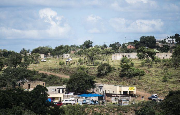 Jozini township.