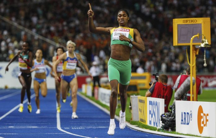 Bigger than sport: Since that fateful 800m final race in August 2009