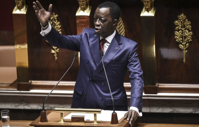 The president of the Pan African Parliament