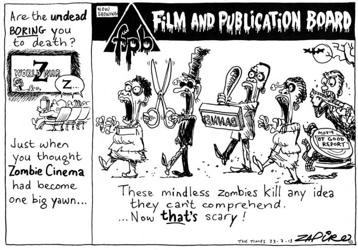 Zapiro: FPB's movie zombies