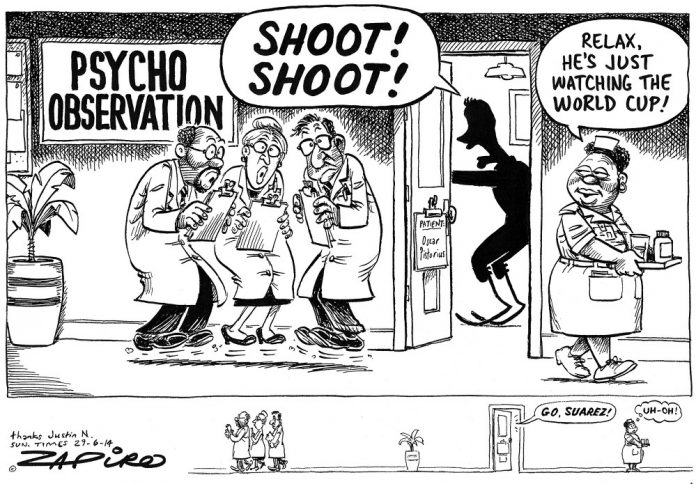 Zapiro: Oscar Pistorius's psychiatric evaluation
