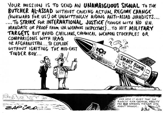Zapiro: Syria smartbomb