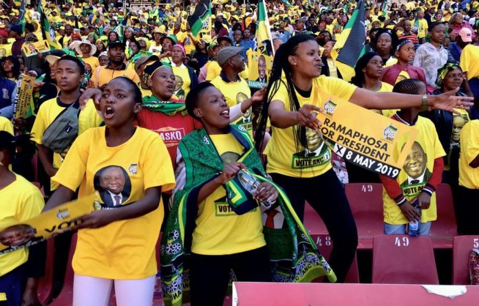 ANC supporters came out in their numbers for the party's Siyanqoba rally at Ellis Park stadium on Sunday