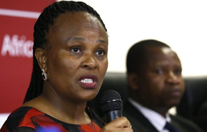 Advocate Busisiwe Mkhwebane released her report earlier on Friday