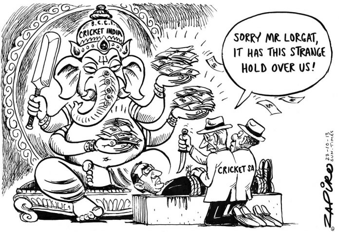 Zapiro: Cricket SA