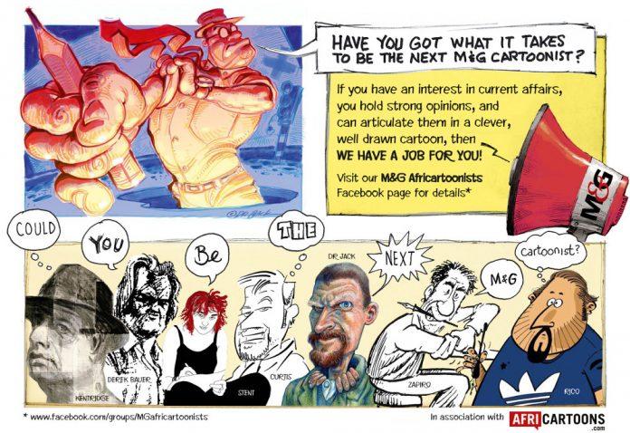 Zapiro: Call for cartoonists
