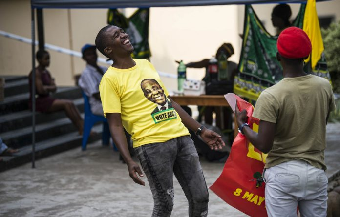 Laugh it off: In two elections' time