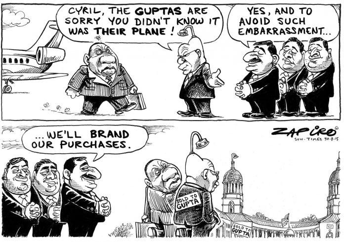 Zapiro: Sold to the Guptas - The Mail & Guardian