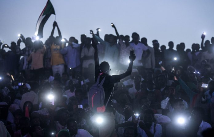 The issue has kept protesters camped outside army headquarters around the clock ever since Bashir's overthrow.