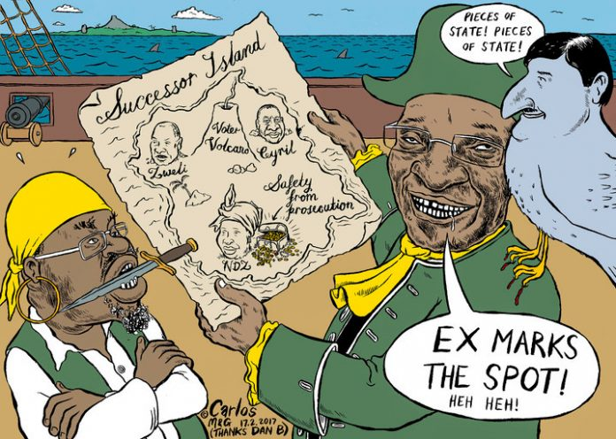 Zapiro: Ex marks the spot!