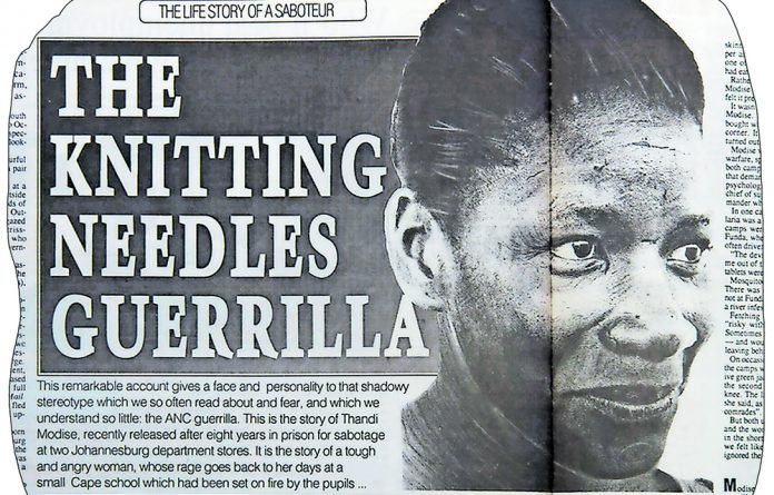 This is the story of Thandi Modise.