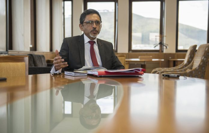 Balancing the books: Trade and Industry Minister Ebrahim Patel would like retirement funds to invest to promote growth.