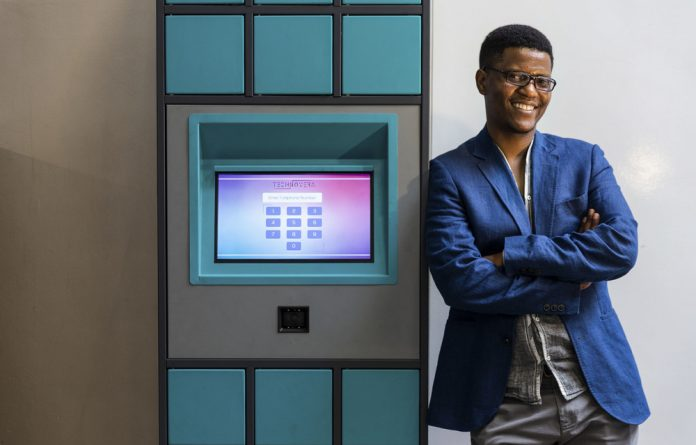 Engineering solutions: Neo Hutiri's Pelebox Smart Lockers are designed to cut down the amount of time patients have to spend waiting in queues for their chronic medication.