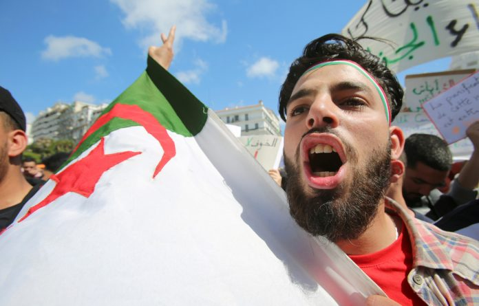 Algerian protests will delay the July elections.