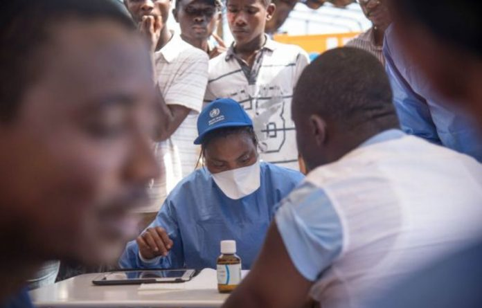 The spread of Ebola across international borders is of a great concern.