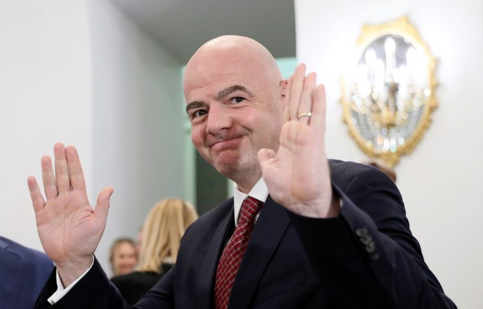 Gianni Infantino has been in charge of FIFA since February 2016