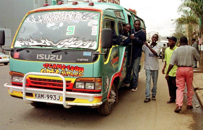 The matatu economy exemplifies notions of entrepreneurship and innovation