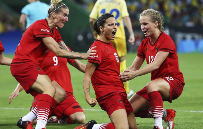 Dzsenifer Marozsán of Germany carries the hopes of her side in the tough Group B of the forthcoming World Cup.