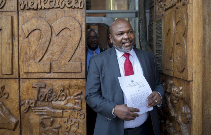 Former NPA boss Mxolisi Nxasana.