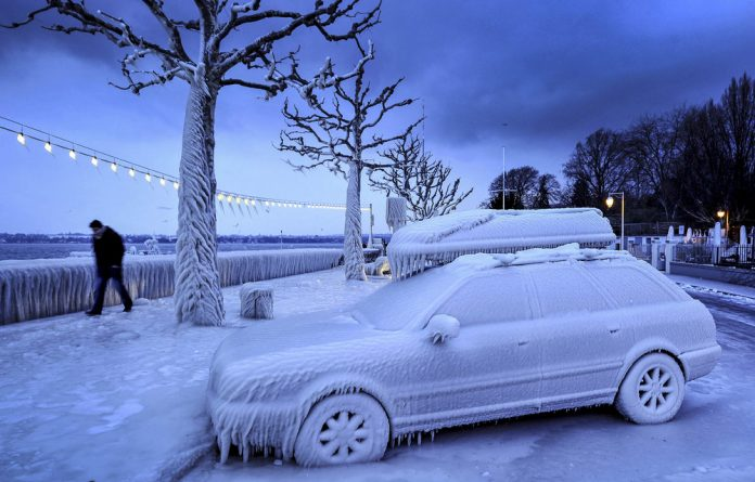 Snow patrol: Climate change has driven destructive weather events around the world. Carbon emissions are responsible for trapping heat and warming the Earth