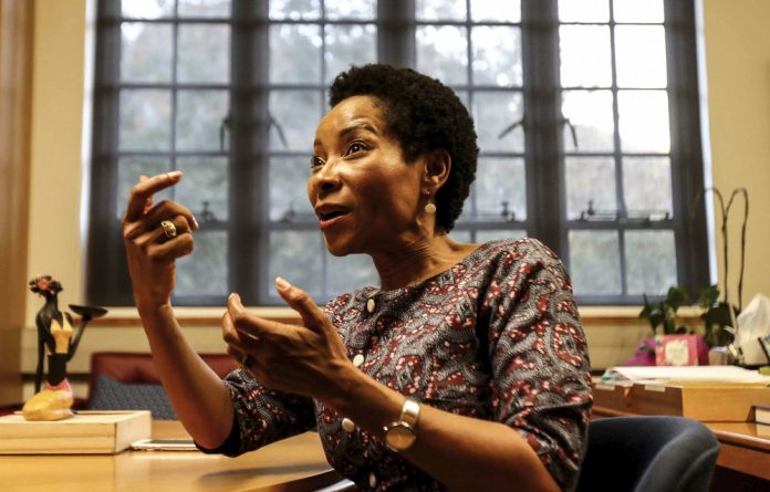 University of Cape Town vice-chancellor Professor Mamokgethi Phakeng says that on taking up her appointment a year ago she realised the challenge was to learn how to build peace.