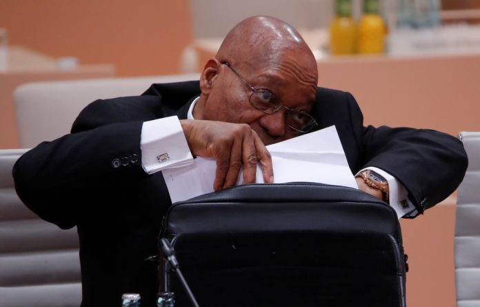 Former president Jacob Zuma began his testimony on Tuesday by saying his family and legal team had received death threats.