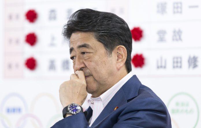 Prime Minister Shinzo Abe.