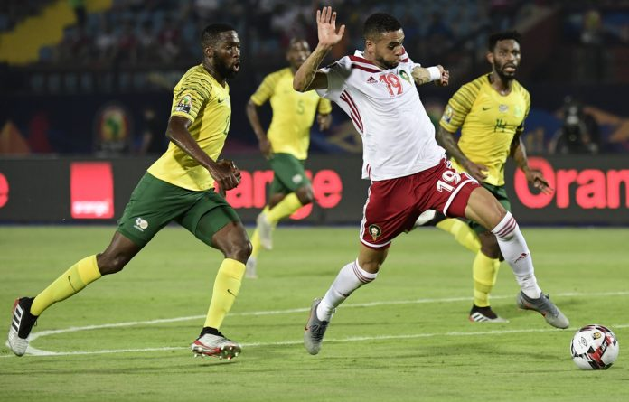 Bafana Bafana's search for a draw backfired on the 89th-minute and now have to rely on results elsewhere.