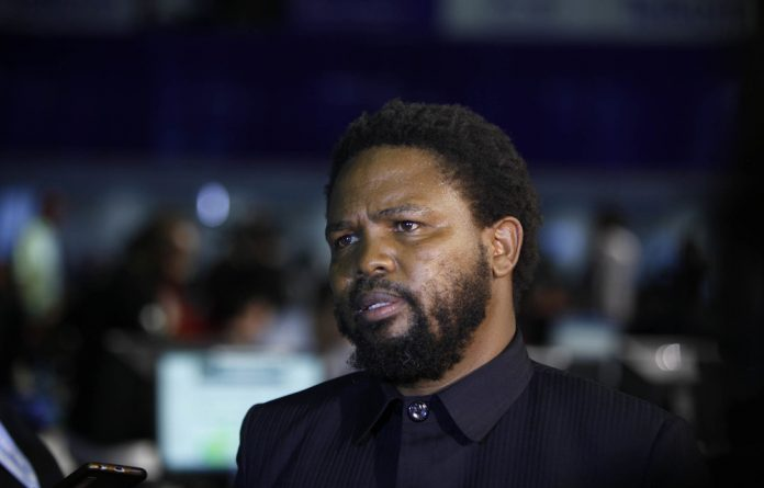 BLF leader Andile Mngxitama.