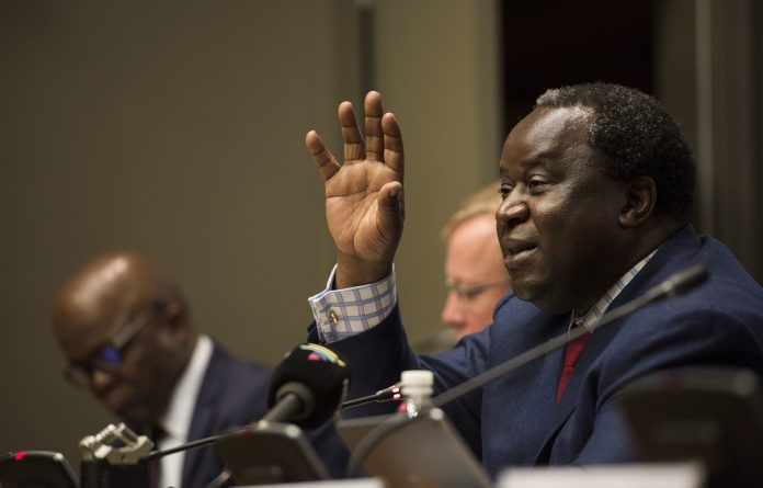 Budget buster: Finance Minister Tito Mboweni has to keep rescuing Eskom