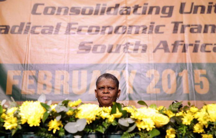 Refusing removal: eThekwini mayor Zandile Gumede's been suspended