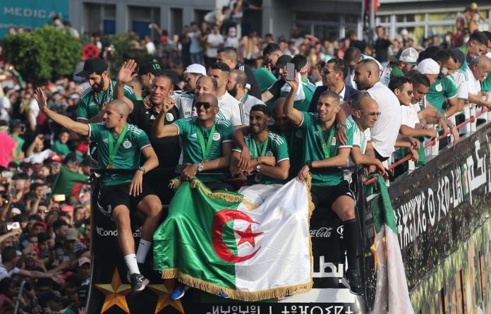 Algeria's win was emotional and significant. A year ago they were in a desperate situation that was highlighted by crashing out of the 2017 Afcon in the group stage.