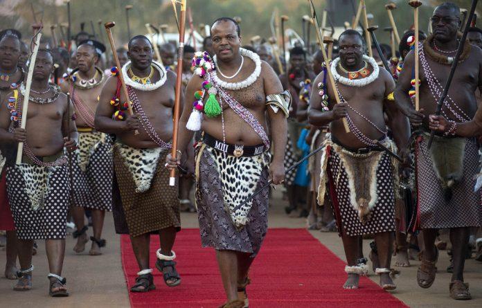 Talks: eSwatini King Mswati III met with Trillian top executives in 2016 to seek help building his kingdom.