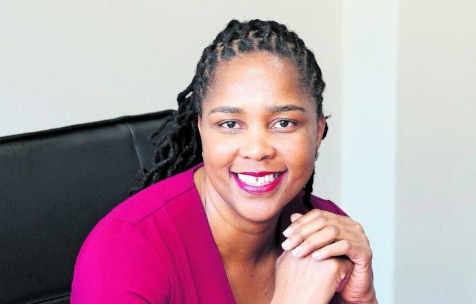 Pension fund adjudicator Muvhango Lukhaimane